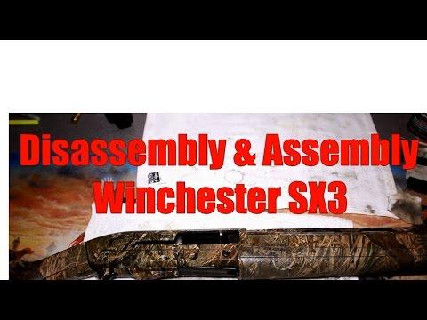 How To Take Apart A Winchester SX3 Shotgun