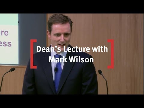 Cass Dean's Lecture with Mark Wilson, Group Chief Executive of Aviva plc
