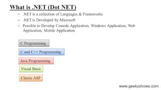 What is .NET (Hindi)