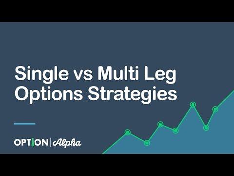 Single vs  Multi Leg Options Strategies