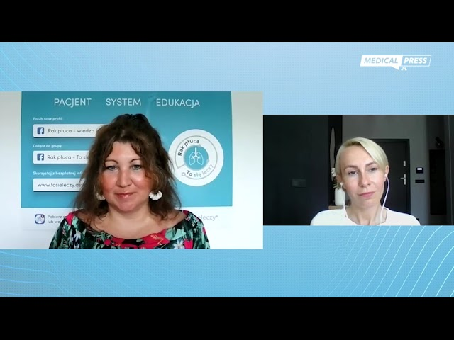 Aleksandra Wilk: Realne wsparcie i pomoc pacjentom z rakiem płuca to moja misja życiowa