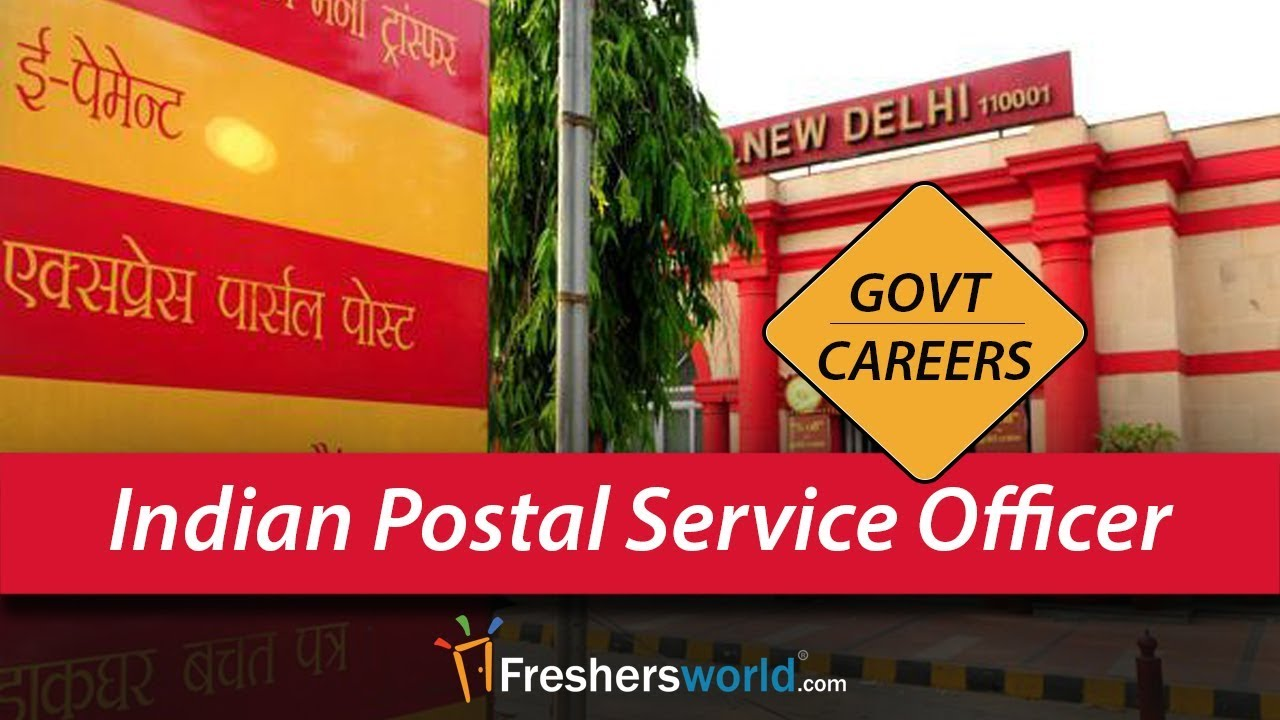 Career Of An Indian Postal Service Officer Government Jobs And Careers Youtube