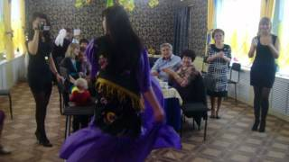 Цыганочка на свадьбе в костюме