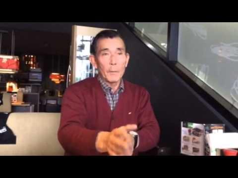 Interview of Sumi Sensei about his Hachi Dan exam