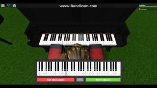 Hikaru Nara - Shigatsu wa Kimi no Uso OP - Virtual Piano [ROBLOX] - FireMickey