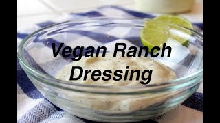 Simple Vegan Ranch Dressing