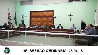 Sessão da Câmara   28.06.18