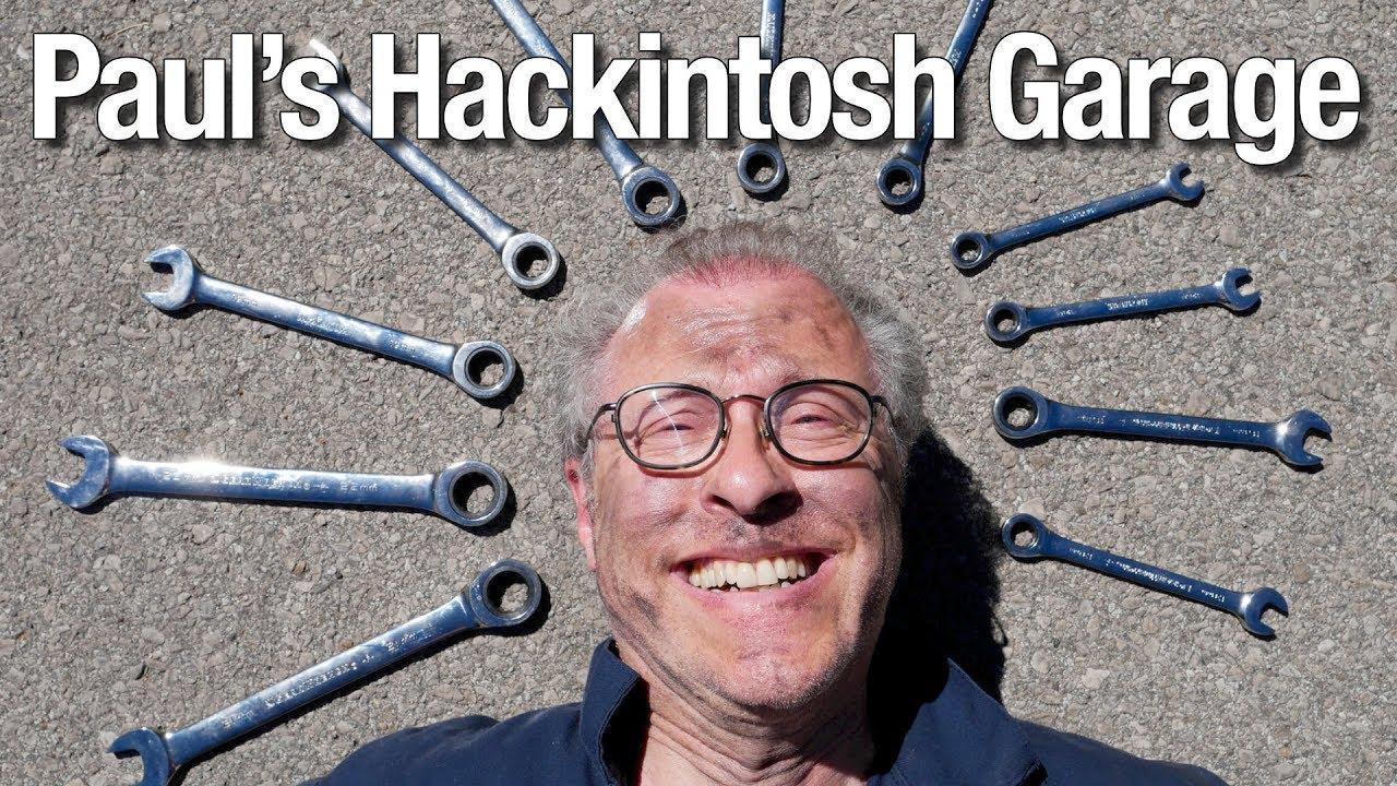 Paul's Hackintosh Garage- Coffee Lake, Intel i7 8700K Hackintosh build
