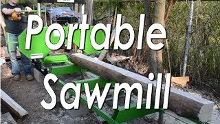 Portable Sawmill Assembly - Harbor Freight