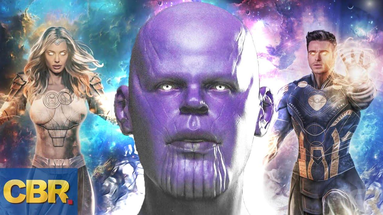 'Eternals: Thanos Rises' Major Reveals for Marvel's Baddest Villain