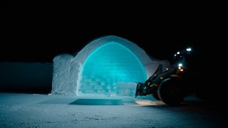 Volvo CE – Building Tomorrow – ICEHOTEL, Sweden