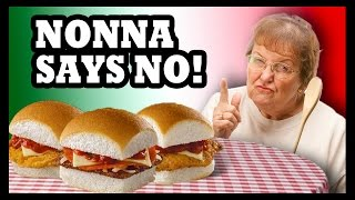 White Castle Attempts Italian Food?!? - Food Feeder