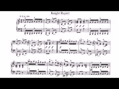 Schumann Robert Album for the Young Knight Rupert Knecht Ruprecht Piano Igor Galenkov