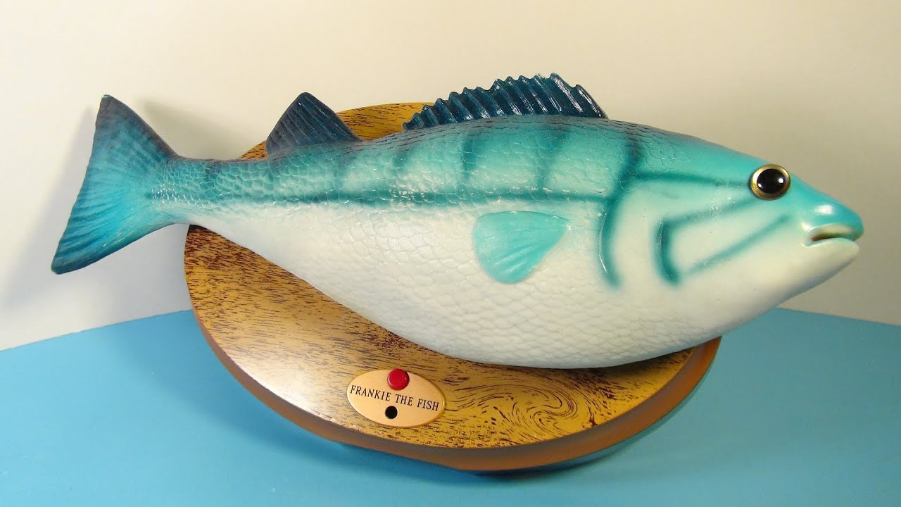 2009 mcdonald 39 s frankie the singing fish video review for Talking fish toy