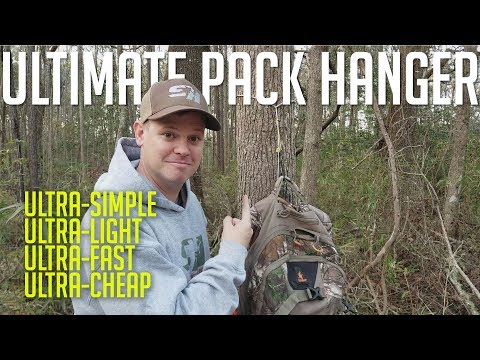 How to hang your hunting pack
