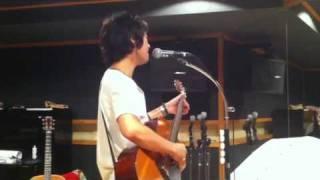 """仲井戸""""CHABO""""麗市氏とのツーマンライブに向けてのリハーサル。曲は和田..."""