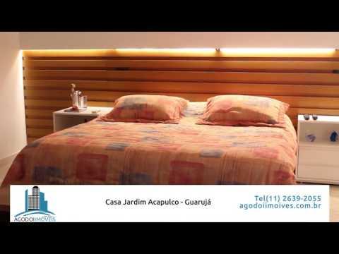 Youtube AGodoi Imóveis Capa: Linda Casa no Jardim Acapulco - Guarujá - com Heliponto