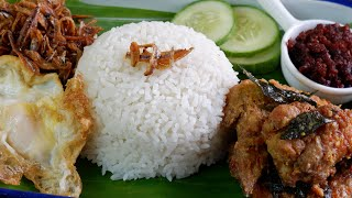 How to Make the Best Coconut Rice for Nasi Lemak in a Rice Cooker 超美味的椰浆饭