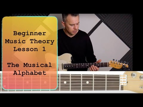 Beginner Theory Lesson 1 - The Musical Alphabet