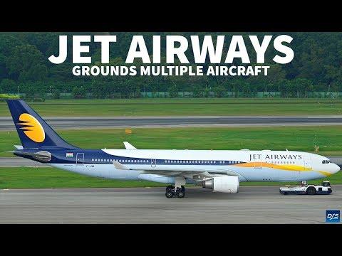 Jet Airways Grounds Aircraft
