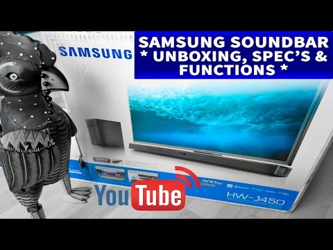 Samsung Soundbar HW-J450 (Unboxing, Specs and Functions) Hosted by Ruby Rock #24