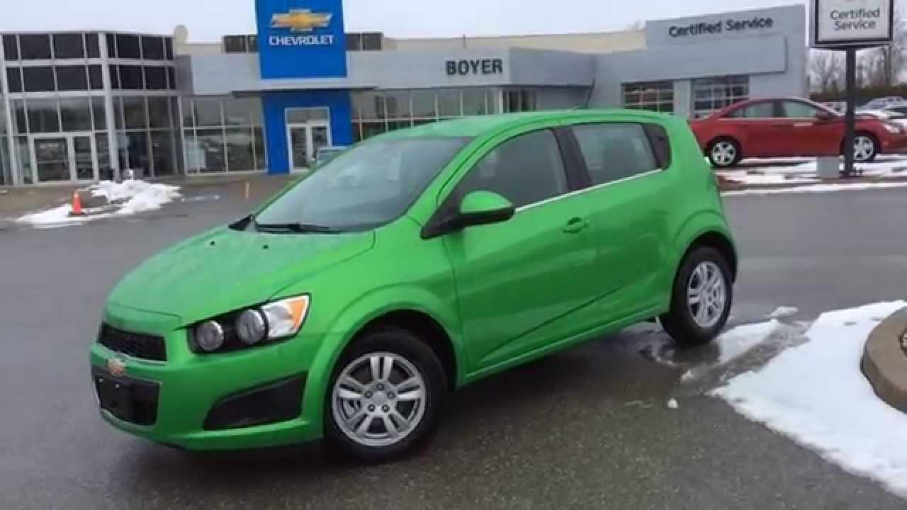 2015 Chevrolet Sonic 5dr HB Auto LT - YouTube