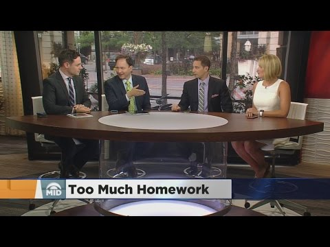 Panel Discussion: Are Young Students Getting Too Much Homework?