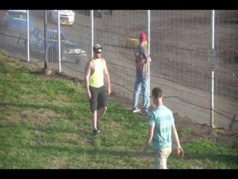 5.29.17---peoria speedway----Street Stock heat race