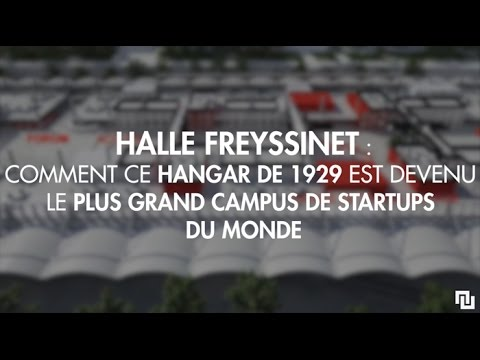 qu 39 est ce que la halle freyssinet futur haut lieu des startups paris youtube. Black Bedroom Furniture Sets. Home Design Ideas