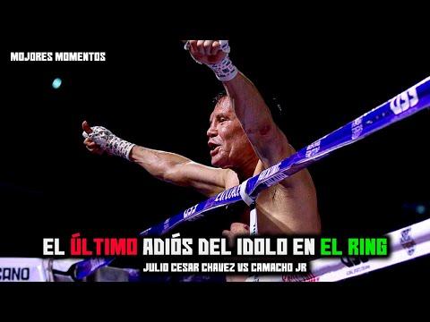 MEJORES MOMENTOS| El adiós de Julio César Chávez en el Boxeo Chavez vs Macho Camacho jr
