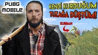 KENDİ KURDUĞUM TUZAĞA DÜŞTÜM! - PUBG Mobile