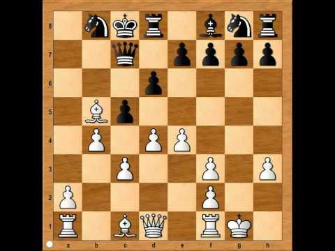 Sicilan Defence, Moscow Variation: Adams  vs Tiviakov  1994