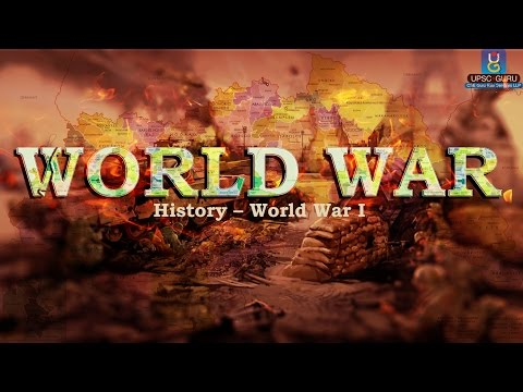 History world war 1