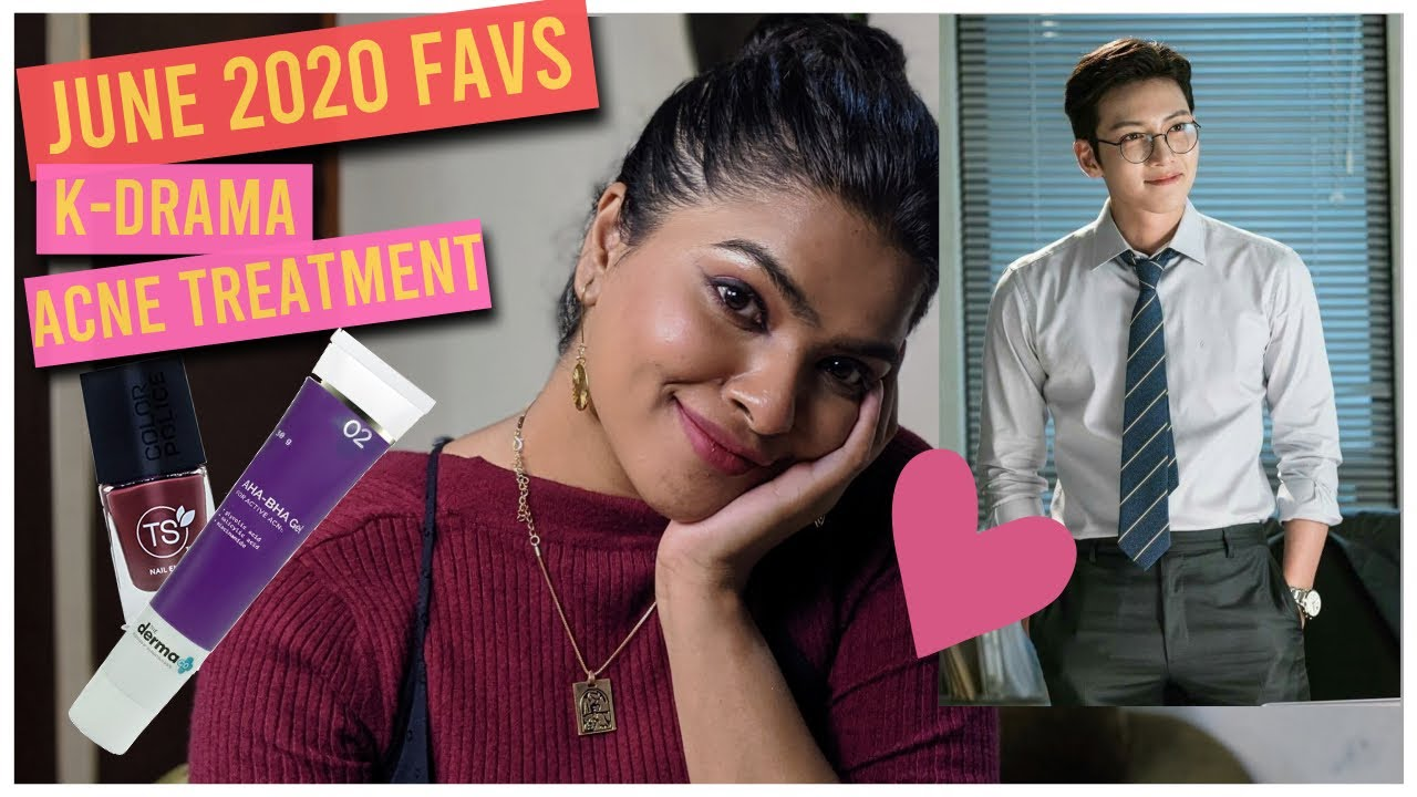 June 2020 Favourites | My Fav K-Drama, Acne Products, Makeup, Accessories, Poda Pitha Recipe