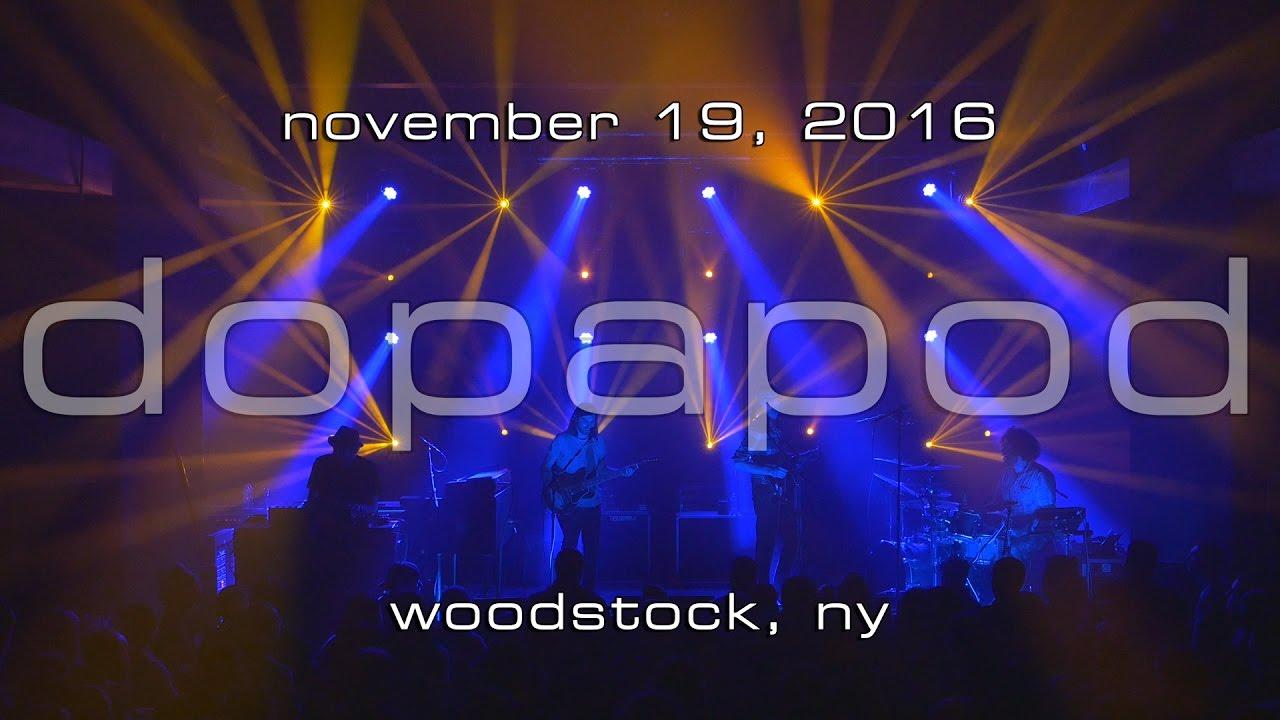 Dopapod: 2016-11-19 - Bearsville Theater