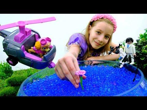 Видео для девочек - Волшебный цветок для Белль - София Прекрасная
