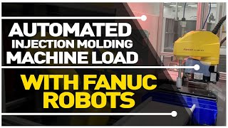 Automated Plastic Mold Injection Machine Tending, Courtesy of Plastics Technical Solutions, Corp.