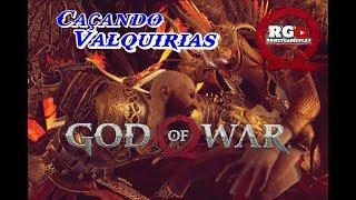 ⚔📛GOD OF WAR #10 ENFRENTANDO AS VALQUÍRIAS/RAPAZ DEU TRABALHO😁😁   .(Gameplay Ps4-Pt br).