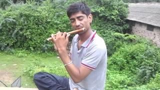Dil deewana bin sajna k mane na on flute by rajan