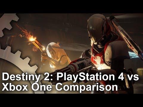 Destiny 2 Beta PS4 vs Xbox One Graphics Comparison + Frame-Rate Test