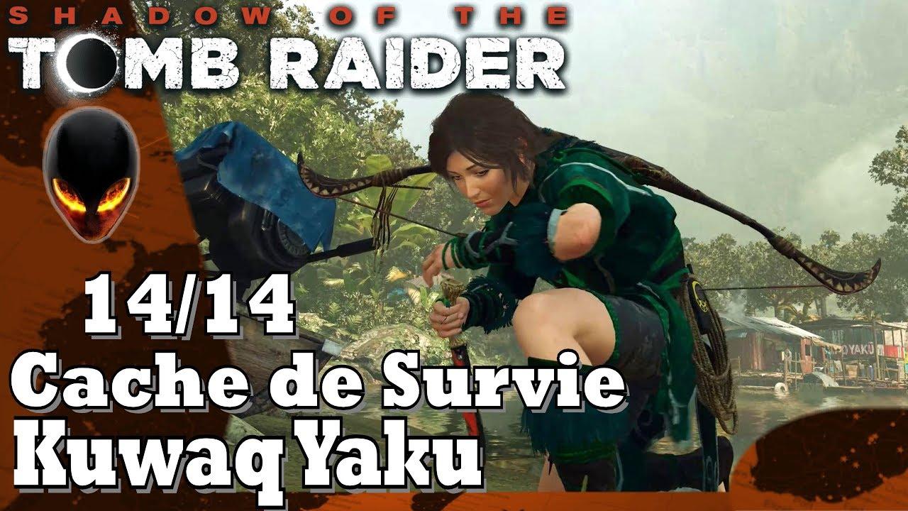 Shadow Of The Tomb Raider Caches De Survie 14 14 Kuwaq Yaku Youtube