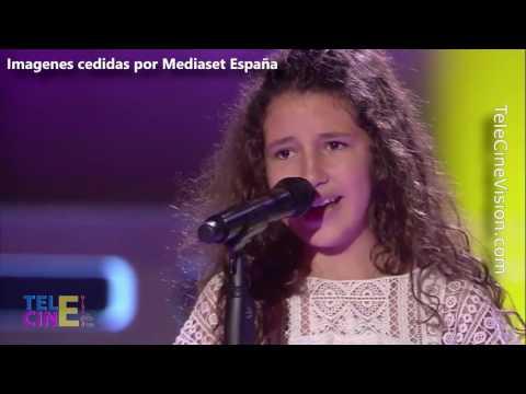 La Voz Kids 3: Esperanza La Granadina De 11 Años Que Cautiva Al Los Coaches | TeleCineVision