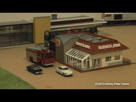 OO Gauge Model Railway Layout Update HD 28/07/2013