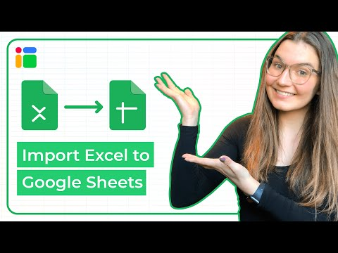 How To Automatically Import Excel Data To Google Sheets?