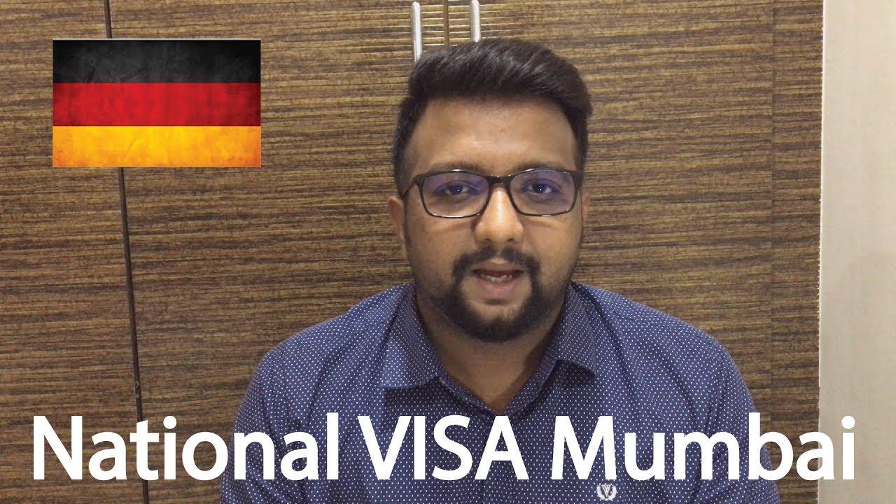 German Student Visa   National VISA   Mumbai Consulate Appointment   Sunny  Londhe