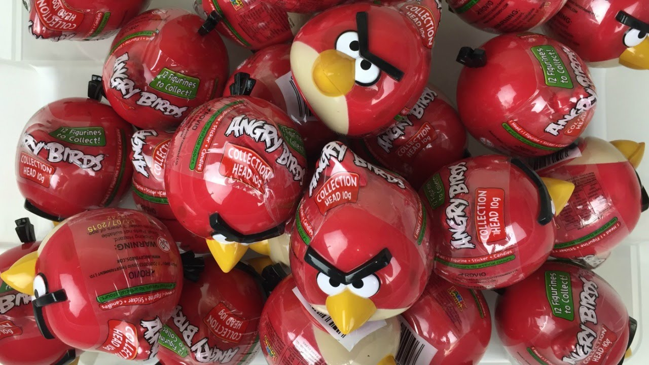 Download Angry Birds Surprise Eggs by Park Avenue Foods Angry Birds Candy Collection Heads