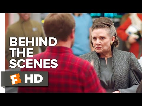 Star Wars: The Last Jedi Behind The Scenes - Carrie Fisher & Rian Johnson (2018) | Movieclips Extras