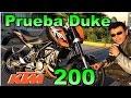 Prueba KTM Duke 200 | Review en español