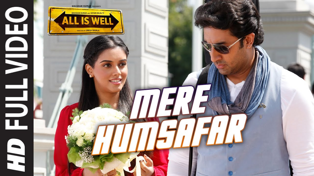 Download Mere Humsafar FULL VIDEO Song | Mithoon, Tulsi Kumar | All Is Well | T-Series