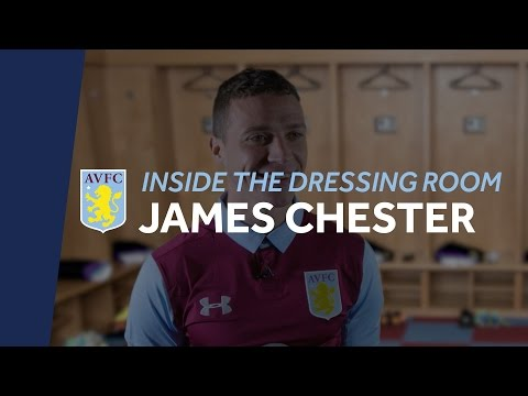 Inside the Dressing Room: James Chester